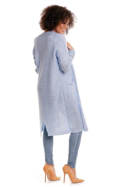 Tehotenský sveter s vreckami Mery - jeans