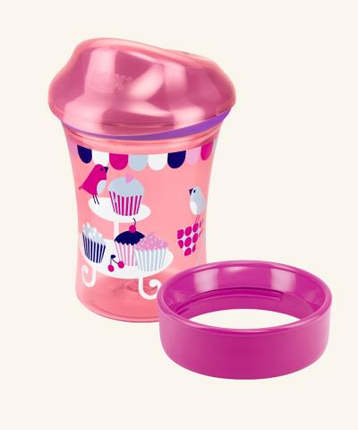 Hrnček NUK Easy Learning Vario Cup 250 ml -s okrajom+náustok.
