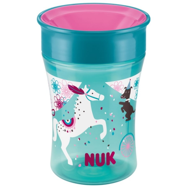 Hrnček NUK Easy Learning Magic Cup 250 ml - Koník