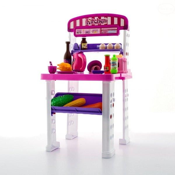 Euro Baby Detská kuchynka Super Delicious - růžová