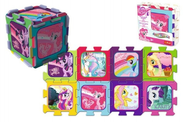 Teddies Penové puzzle My Little Pony/Hasbro 32x32x1cm