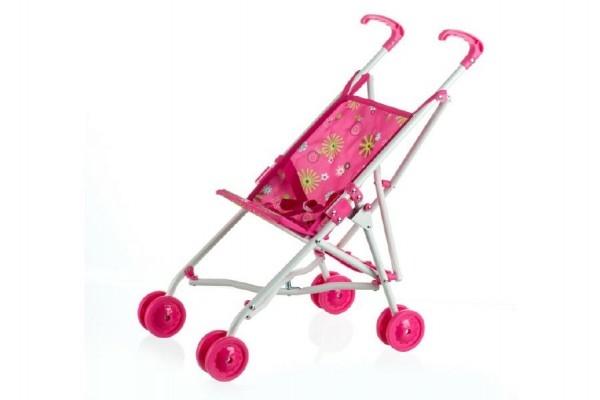 Teddies Kočík pre bábiky golfové palice kov/plast 27x55x52cm v sáčku