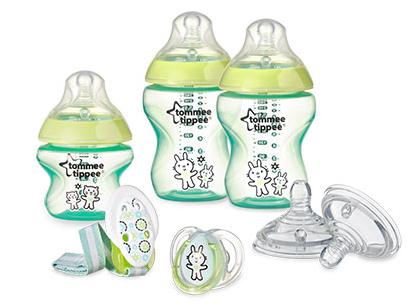 Dojčenská sada Tommee Tippee pre novorodencov - zelená