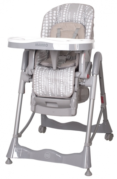 Jedálenský stoliček  Mambo Grey