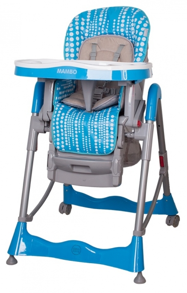 Jedálenský stoliček  Mambo Turquoise