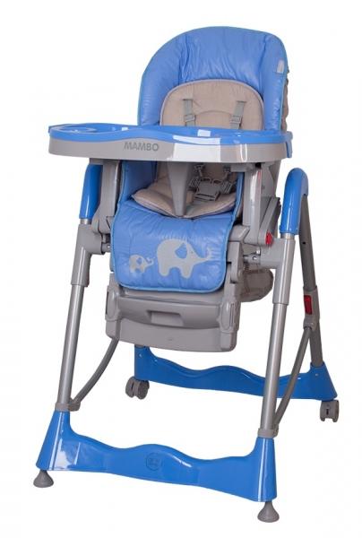 Jedálenský stoliček  Mambo Blue