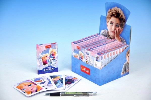 Čierny Peter Ľadové kráľovstvo / Frozen spoločenská hra - karty v papierovej škatuľke