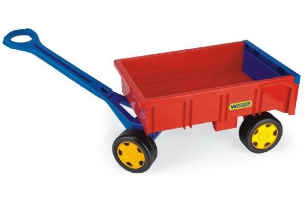 Teddies Vozík/Vlečka detská plast 95cm od 12 mesiacov Wader nosnosť 60kg