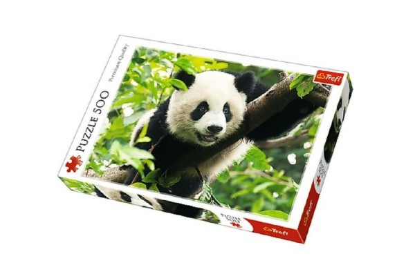 Puzzle Panda 500 dielikov 48x34cm v krabici