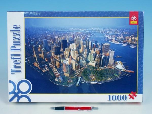 Teddies Puzzle New York 1000 dielikov v krabici Trefl