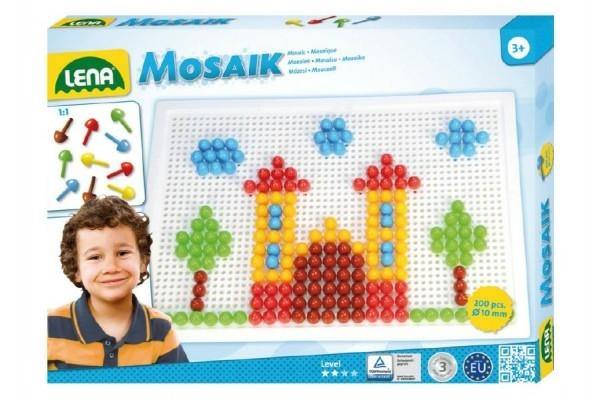 Teddies Mozaika klobúčik 1cm hladký 200ks v krabici