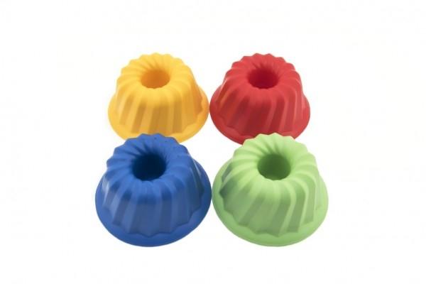 Lori Bábovka guľatá plast 12x7cm  4 farby od 12 mesiacov