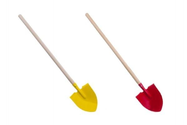 Teddies Rýľ špicatý s násadou drevo / kov 80cm 2 farby náradia