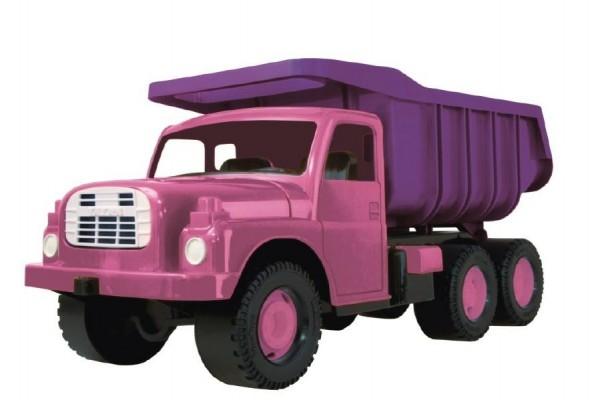 Teddies Auto Tatra 148 plast 73cm v krabici - ružová