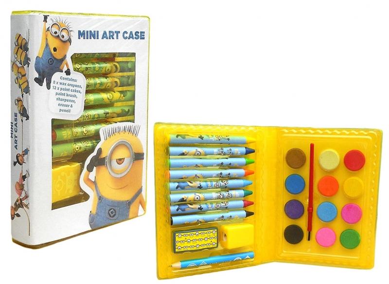 Box malovací box Mimoni, 24 kusů