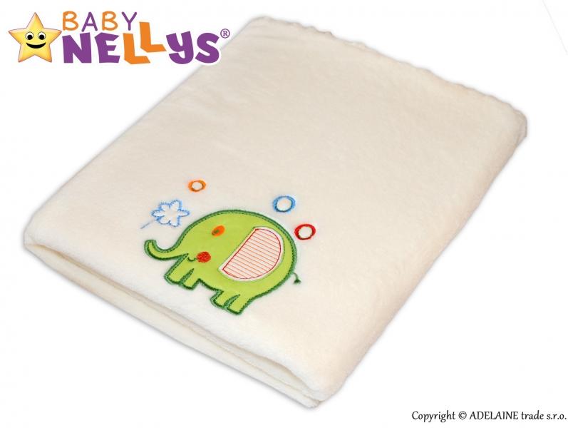 Dečka Collar Baby Nellys ® SLON - smotanová