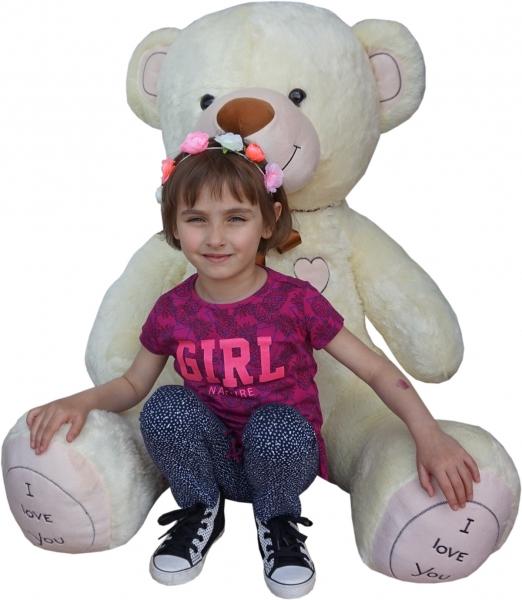 Plyšový medveď I love You - NOVINKA