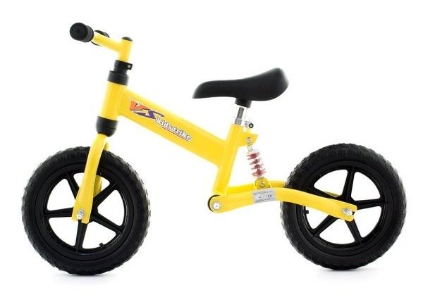 Detské odrážadlo-kolo - žlté