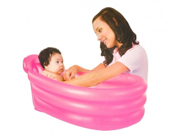 Bazén / vanička oválny s nafukovacím dnom 79x51x33cm asst 2 farby v škatuľke