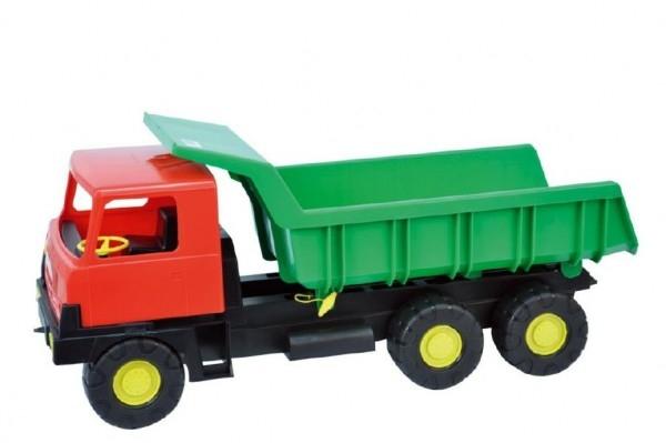 Teddies Auto Tatra 815 korba zelená kabína červená plast 75cm