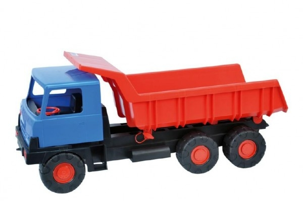 Teddies Auto Tatra 815 korba červená kabína modrá plast 75cm