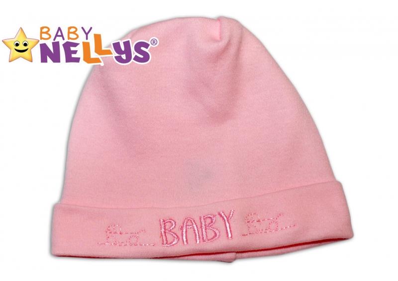 Čiapočka Baby Nellys® - BABY ružová