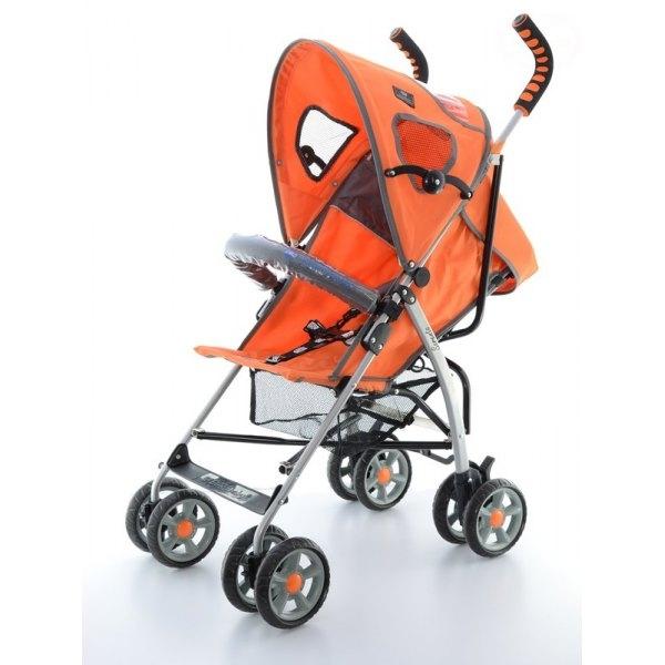 Športový kočík SORENTO KOMFORT - oranžový