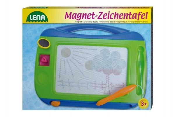 Teddies Magnetická tabulka farebná 31x24cm