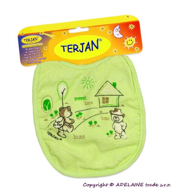 Podbradník TERJAN - stredný - zelený