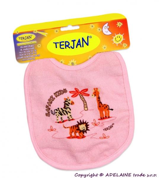 Podbradník TERJAN - stredný - ružový