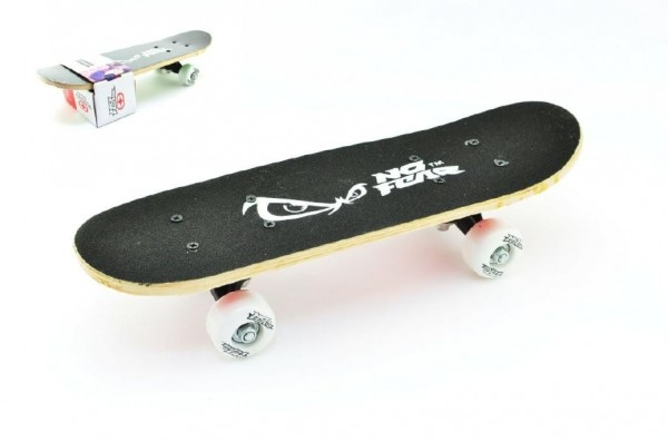 Teddies Skateboard drevo 43x13cm nosnosť 50kg