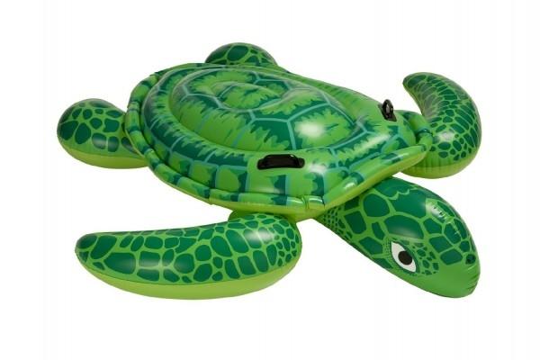 Lehátko korytnačka s úchytmi nafukovacie 191x170cm