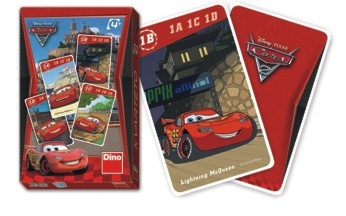 Rappa Kartová hra kvarteto Cars 2