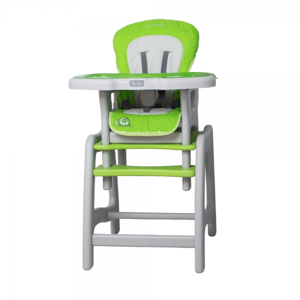 Jedálenský stolček Coto Baby STARS Šnek - zelený