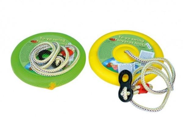 Hojdačka Jojo kruh na zavesenie priemer 27cm nosnosť 50kg 3 farby