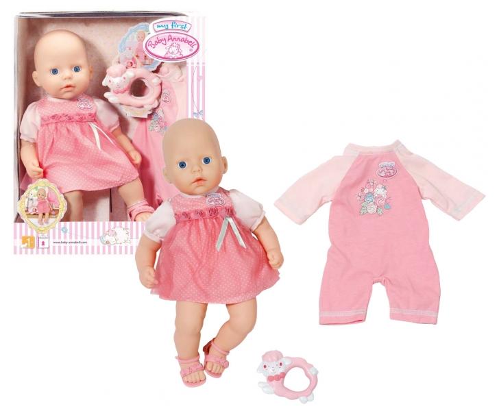 My First Baby Annabell bábika s ružovou sadou
