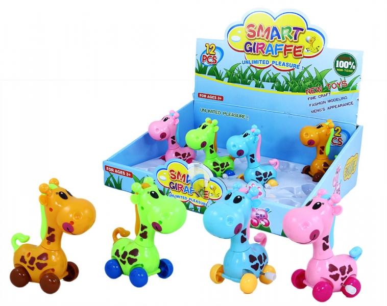 Žirafa jazdiaci na natiahnutie 4 druhy