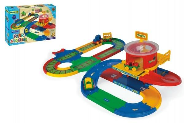 Kid Cars prestupná stanica 5m v krabici od 12 mesiacov Wader