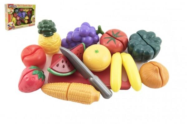 Teddies Ovocie a zelenina krájací plast v krabičke
