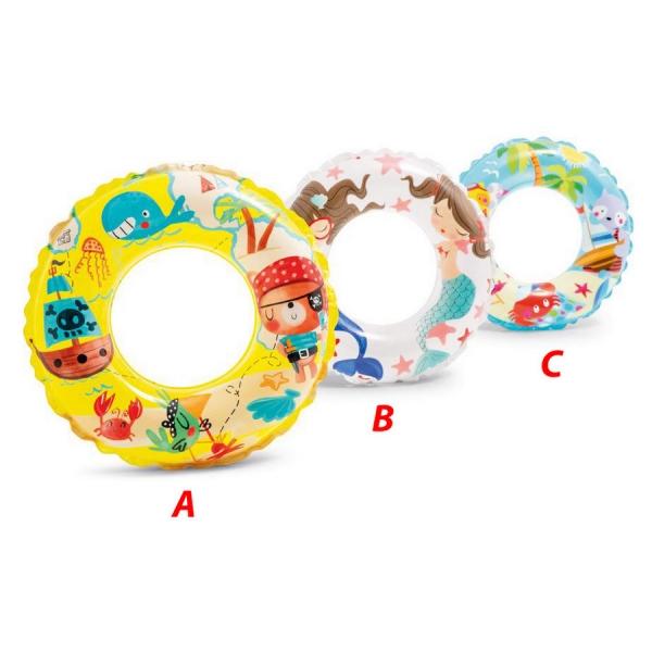 Rappa Nafukovacie koleso morský svet, 3 druhy, 61 cm, 6-10 rokov