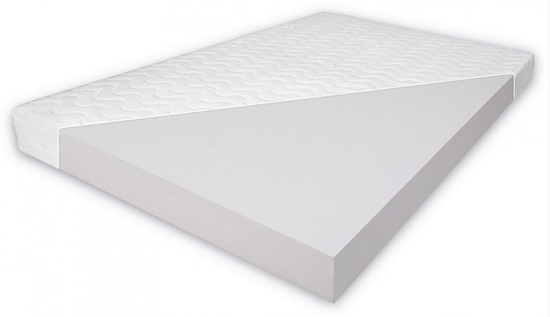 Penový matrac 8cm - rozmer 190x90 cm.