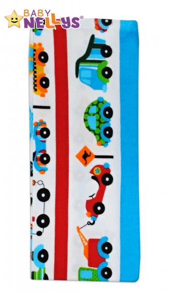 Flanelová prebaľovacia plienka na cesty - 50x60cm - chlapčenské farby