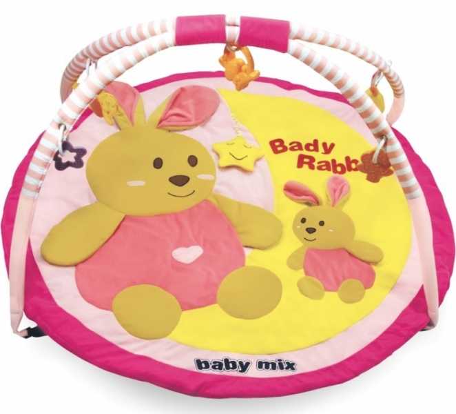 Hracia deka Baby Mix - ZAJAČIKOVIA