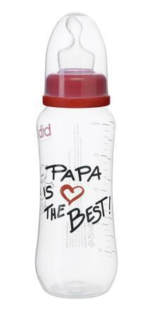 Bibi Dojčenská fľaša Papa is the best 250ml