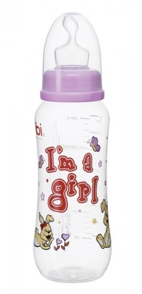 Bibi Dojčenská fľaša I´m a girl 250ml