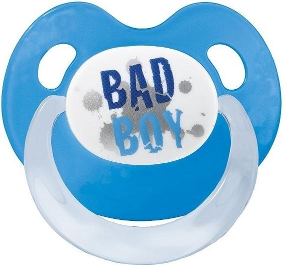 Silikónový ortodontický cumlík BIBI - Bad Boy