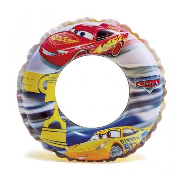 Rappa Nafukovacie koleso CARS - Autá, 51 cm