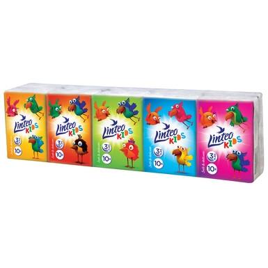 Papierové vreckovky Linteo Kids mini 10x10ks,