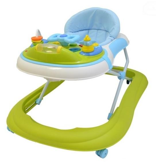 Euro Baby Multifunkčné chodítko - zelené, Ce19