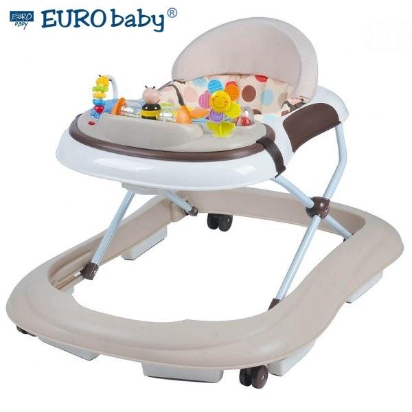 Euro Baby Multifunkčné chodítko - béžové